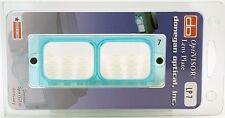 "Donegan LP-7 OptiVisor® Glass Lens Plate, 2.75X Magnification at 6"" Focal Length"