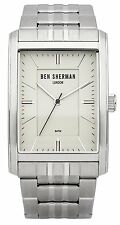 Ben Sherman WB013SM Clerkenwel Stainless Steel Gents 2Year Guarantee RRP £80.00