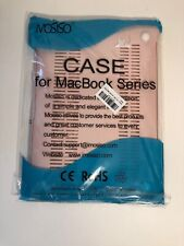 Mosiso 3 in 1 soft Plastic Case for Macbook Series, Baby pink New In Package