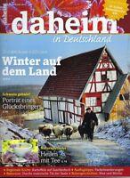 """Magazin """"daheim - in Deutschland"""",  Januar 2015"""