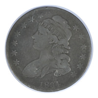 1834 Capped Bust Half Dollar Very Fine