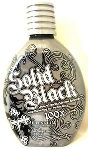 Millennium SOLID BLACK 100X Dark Tanning Lotion 13.5 oz