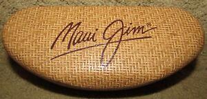 Maui Jim Straw Design Sunglasses Clamshell Case