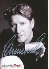 Toni Schumacher   Fußball Sponsoren Autogrammkarte signiert 350116