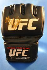 Josh Thomson Signed UFC MMA Glove (GSP, Jon Jones, Benson Henderson) Strikeforce