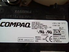 DLT Tape Drive Compaq 40/80 GB TH8AG-CM A05 70-60420-02 SCSI LVD/SE C02 E164059