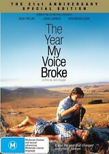The Year My Voice Broke (DVD, 2013) Brand New & Sealed Region 4