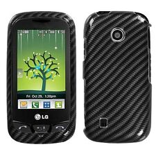 Racing Fiber Hard Case Cover for LG Cosmos Touch VN270