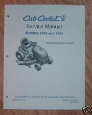 CUB CADET LT1024 LT1042 LT1045 LT1046  FULL COLOR EDITION SERVICE MANUAL