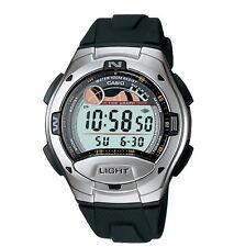 Casio W753-1A Men's Black Tide Graph Moon Phase Countdown Timer Sports Watch