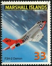 US Navy McDONNELL F3H/F3H-2 DEMON Carrier Fighter Aircraft Airplane Mint Stamp