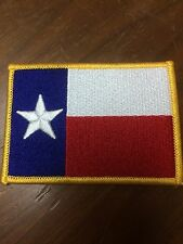 Lot of ( 2 ) TEXAS FLAG PATCHES