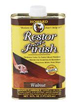 HOWARD Original Restor-A-Finish 1 Pt Walnut Wood Furniture Restorer RF4016