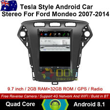 """9.7"""" Android 8.1 Car non dvd Player Tesla Style GPS For Ford Mondeo 2007-2014"""