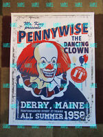"IT - Pennywise ( 11"" x 15"" ) Collector's Poster Print - B2G1F"