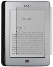 Skinomi Carbon Fiber Black Skin+Screen Protector for Amazon Kindle Touch 3G