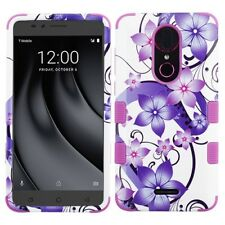 COOLPAD Revvl Plus Shockproof Impact HYBRID Armor Rubber Rugged Case Phone Cover