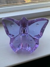Fire And Light Signed Lavender Butterfly