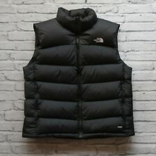 North Face Quilted 700 Down Vest Size XL Black Tag Made in USA Nuptse