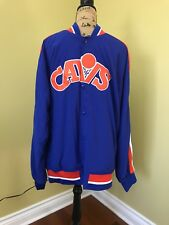 Vintage Cleveland Cavaliers warm up jacket men's XL Mitchell and Ness HWC.
