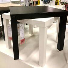 Ikea Lack Table D'Appoint Noir Basse de Télévision Salon