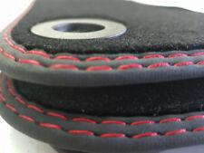 Fußmatten für Seat LEON III 5F Bj.2013 Original Doppelnaht rot-rot Velours