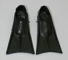 Vintage GI Joe Black Swim Fins GI1988