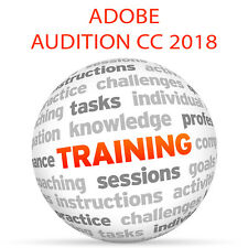 Adobe AUDITION CC 2018 - Video Training Tutorial DVD
