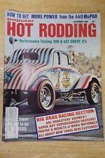 Popular Hot Rodding Magazine November 1968 ~ 396 427 Chevy