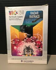 Vintage Commodore Vic 20 Game Radar Ratrace with Box