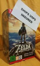 SHIPS INSURED Zelda Breath of the Wild Limited Edition Nintendo Switch Sword NEW