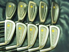 Honma Mens LB606 cavity golf iron 18Kgold 3stars Black Shaft limited Excellent !