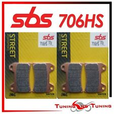 Pasticche Anteriori SBS HS Sinter Per MOTO GUZZI BREVA 1100 2005 2006  (706 HS)