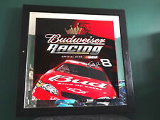 BUDWEISER BEER NASCAR RACING DALE JR #8 BUD KING OF BEER RACING BAR MIRROR