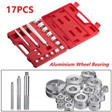 17Pcs Car SUV Wheel Bearing Race Seal Bush Driver Set Kit Aluminium 10mm-42mm