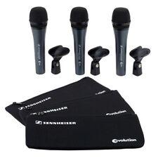 SENNHEISER 3PACK E 835 pacco risparmio 3x microfono + astuccio + supporto NUOVI