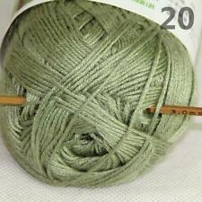 Venta NUEVO 1 ballx 50g Calcetines De Bambú suave natural de bebé suave algodón hilo de ganchillo 14