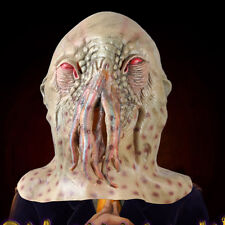 Doctor Who Movie Halloween Horrible Ood Latex Octopus Mask Prop Carnival Cosplay