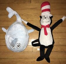 Dr. Seuss the Circus Blue Whale Plush Cat in the Hat Stuffed Animal Kohl's Cares