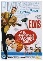 It Happened At The World's Fair DVD Elvis Presley Original UK Rele New Sealed R2
