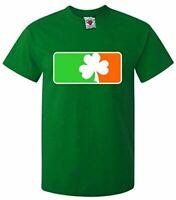 Clover Irish Flag Men's T-Shirt - Ireland St Patricks Day Drinking Funny Joke