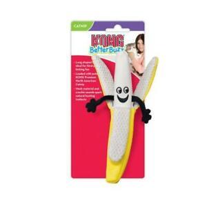 KONG Better Buzz Banana Catnip Cat Toy