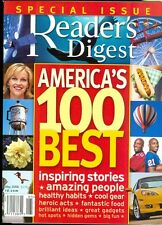 2006 Reader's Digest Magazine: America's 100 Best/Healthy Habits/Cool Gear