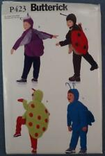 NOS Butterick Costume Pattern P423 Lady Bug New Old Stock