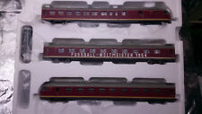 * Rivarossi HR2015 Diesel 3 Coach VT 08.5 DB Ausfuhrung 1954 HO 1:87 Scale