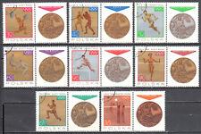 Poland  1965 - Sport - Polish Medal Winners - Mi 1623-30 - used