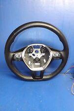 16 17 VW Passat black leather steering wheel OEM FF620 5C0419091CJE74