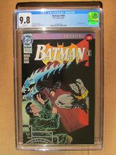 DC Comics – Batman #499 CGC 9.8 – Knightfall Part 17