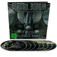 DIMMU BORGIR-FORCES OF THE NORTHERN NIGHT LIMITED EARBOOK 2BLU-RAY+2DVD+4CD NEW!