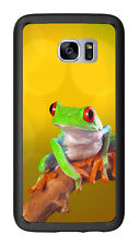 Colorful Tree Frog For Samsung Galaxy S7 G930 Case Cover by Atomic Market